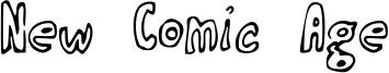 New Comic Age Font