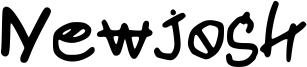 Newjosh Font