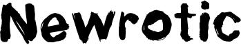 Newrotic Font