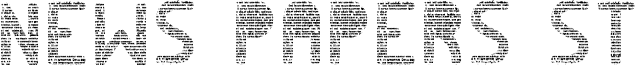 News papers ST Font