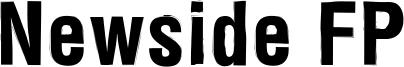 Newside FP Font