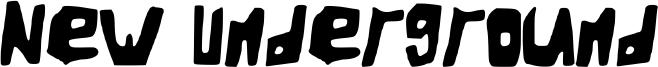 New Underground Font