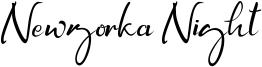 Newyorka Night Font