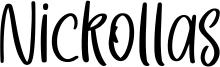 Nickollas Font