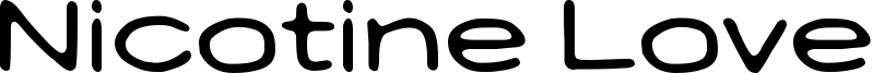 Nicotine Love Font