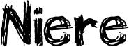 Niere Font