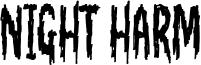 Night Harm Font