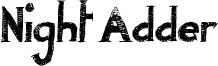 Night Adder Font
