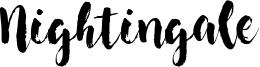 Nightingale Font