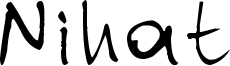 Nihat Font