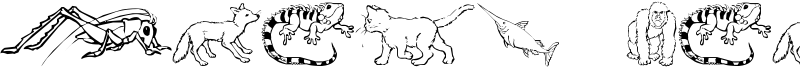 Nina's Animals Font