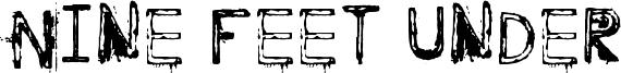 Nine Feet Under Font