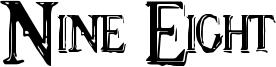 Nine Eight Font