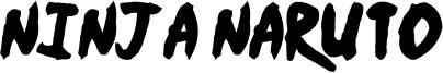 Ninja Naruto Font