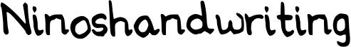 Ninoshandwriting Font