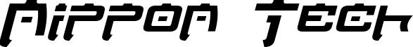 Nippon Tech Bold Italic.otf