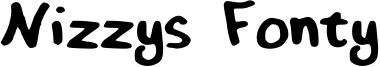 Nizzys Fonty Font