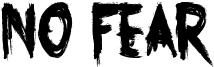 No Fear Font