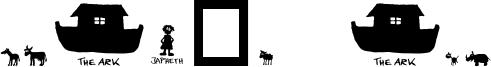 Noah's Ark Font