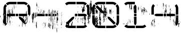 NoLicense_R-2014_Eroded.ttf