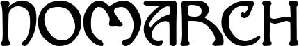 Nomarch Font