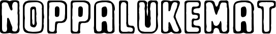 Noppalukemat Font
