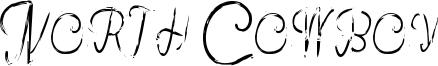 North Cowboy Font