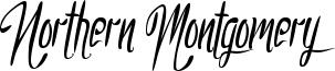 Northern Montgomery Font