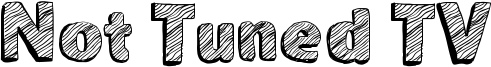 Not Tuned TV Font