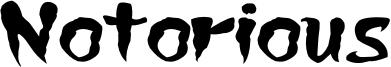 Notorious Font
