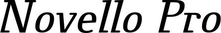 Novello_Pro_Italic.otf