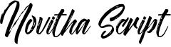 Novitha Script-Demo.otf