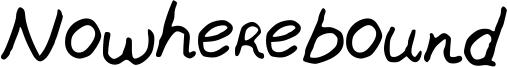 Nowherebound Font