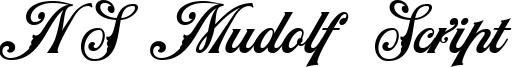 NS Mudolf Script Font