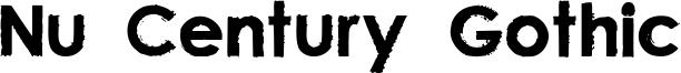 Nu Century Gothic Font