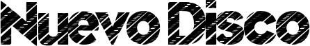 Nuevo Disco Font