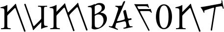 Numbafont Font