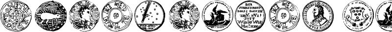 Numismatic Bats TFB Font