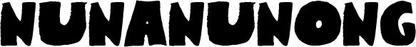 Nunanunong Font