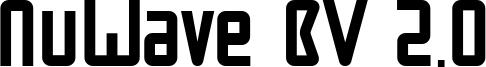 NuWave BV 2.0 Font