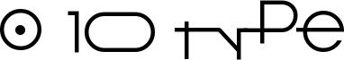 O 10 Type Font