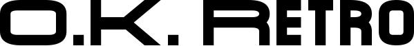 O.K. Retro Font