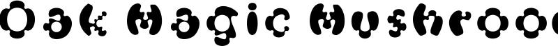 Oak Magic Mushroom Font