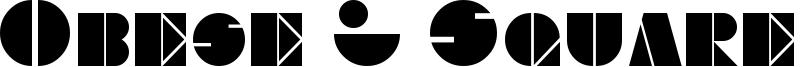 Obese & Square KK Font