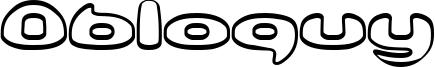 Obloquy Font