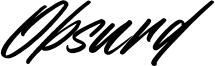 Obsurd Font