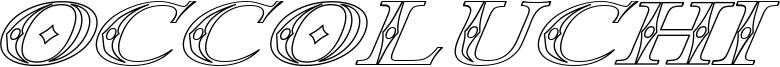 Occoluchi Italic Outline.ttf