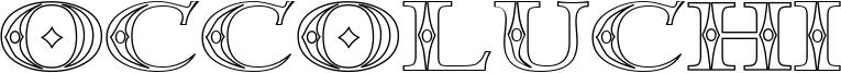 Occoluchi Font