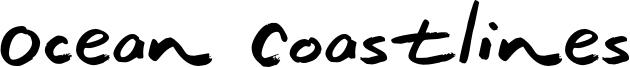 Ocean Coastlines Font