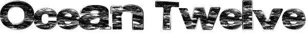 Ocean Twelve Font